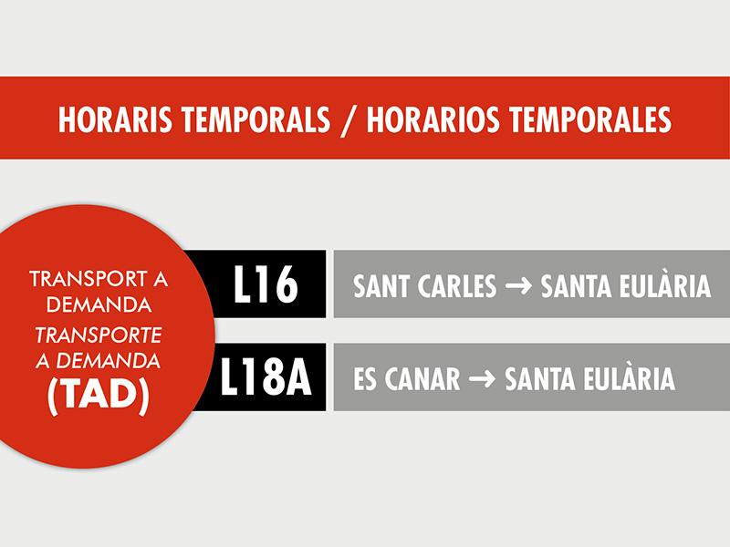 SAGALÉS PONE TEMPORALMENTE EN FUNCIONAMIENTO DOS SERVICIOS DE TRANSPORTE A DEMANDA, A CAUSA DEL COVID-19