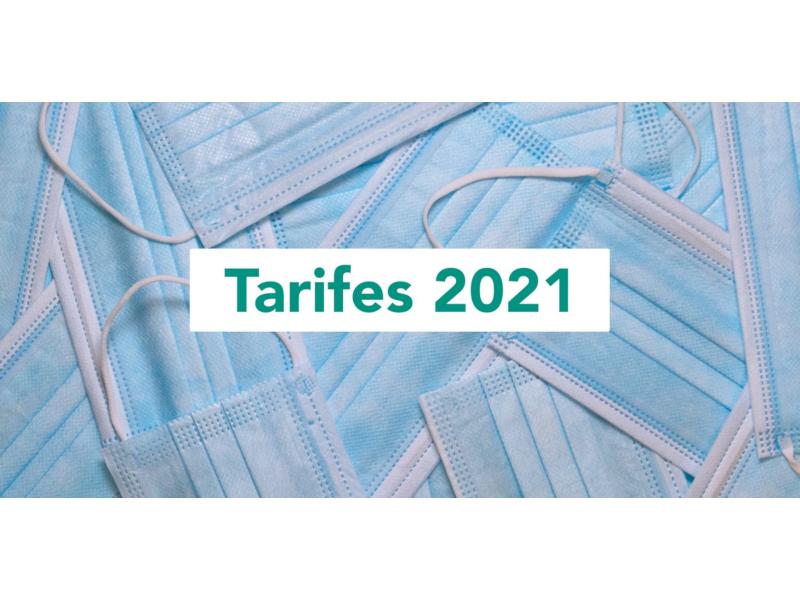 LES TARIFES DEL TRANSPORT PÚBLIC ES CONGELEN AL 2021