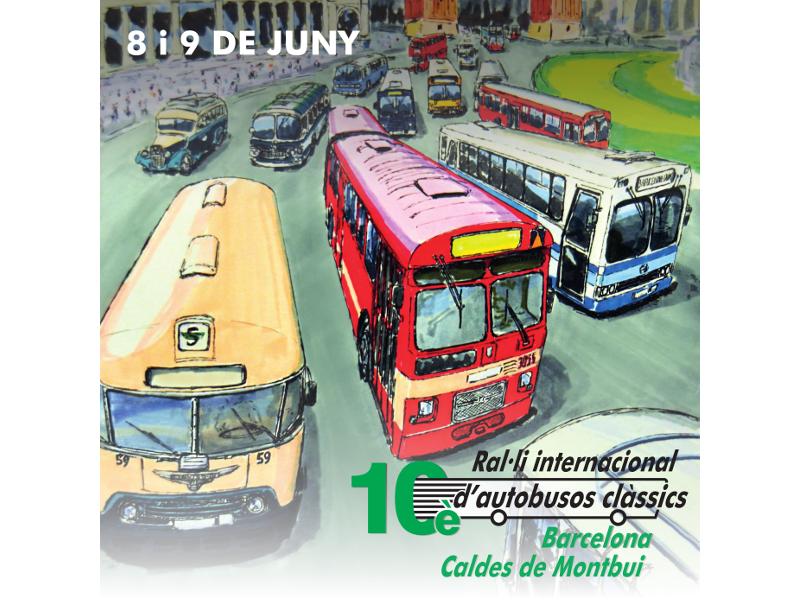 SAGALÉS ORGANITZA EL 10è RAL·LI INTERNACIONAL D'AUTOBUSOS CLÀSSICS