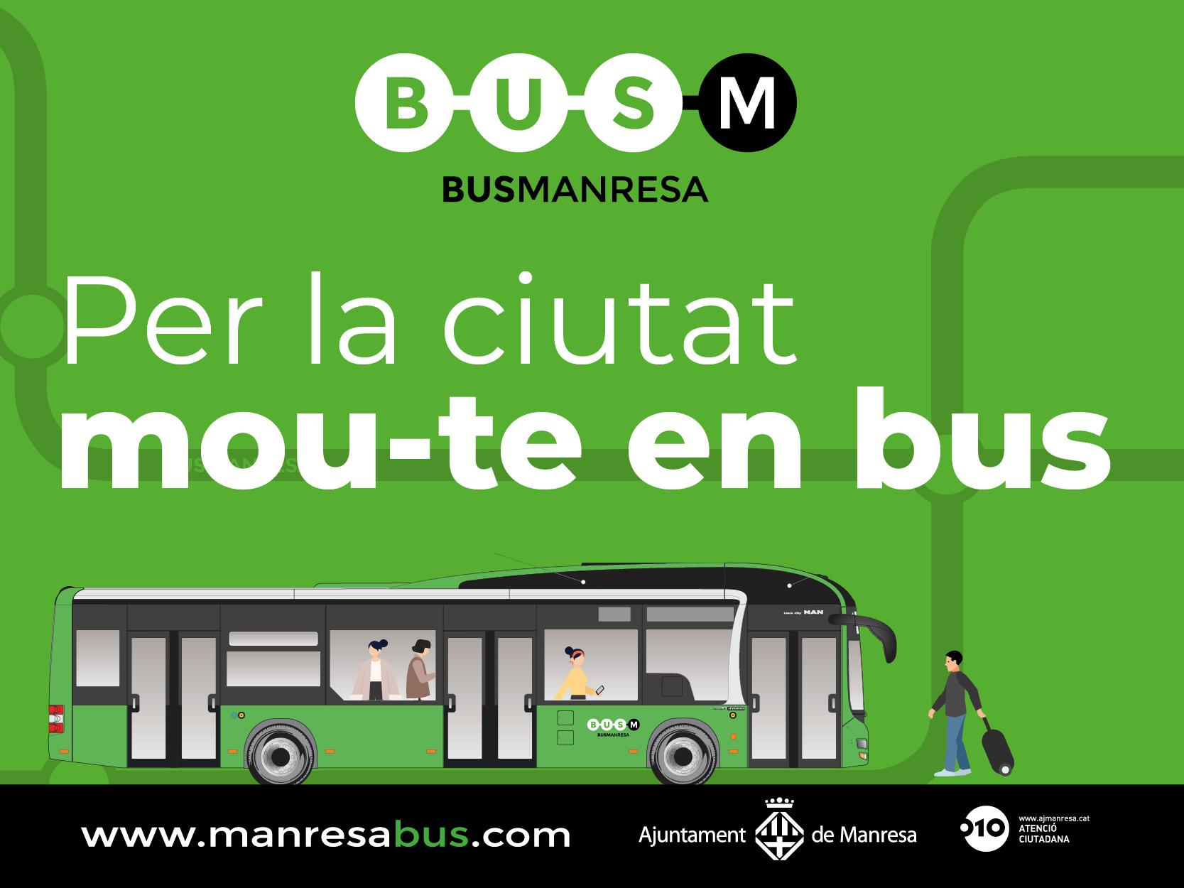 UN ANY MÉS, BUSMANRESA COL·LABORA A LA MANRESADA