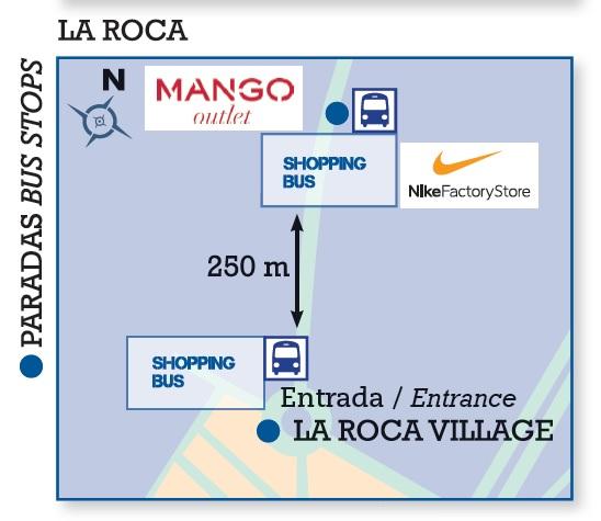 horno En respuesta a la extraterrestre  Sagales - La Roca del Vallès Shopping Bus